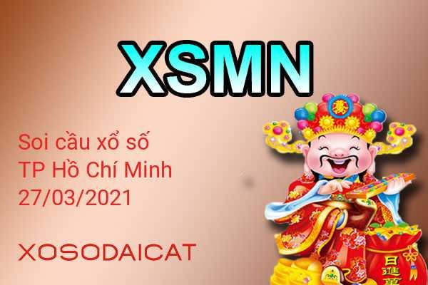 Dự Đoán Xổ Số TP Hồ Chí Minh Ngày 27-03-2021