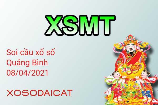 Dự Đoán Xổ Số Quảng Bình Ngày 08-04-2021